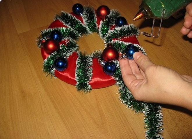 Как своими руками сделать мишуру новогоднюю