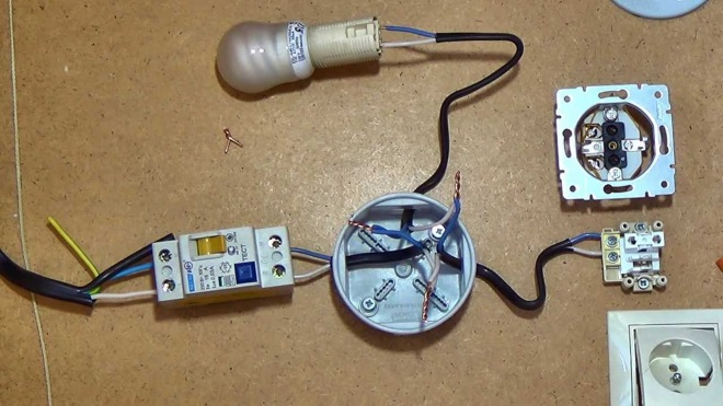 Электро проводка своим руками