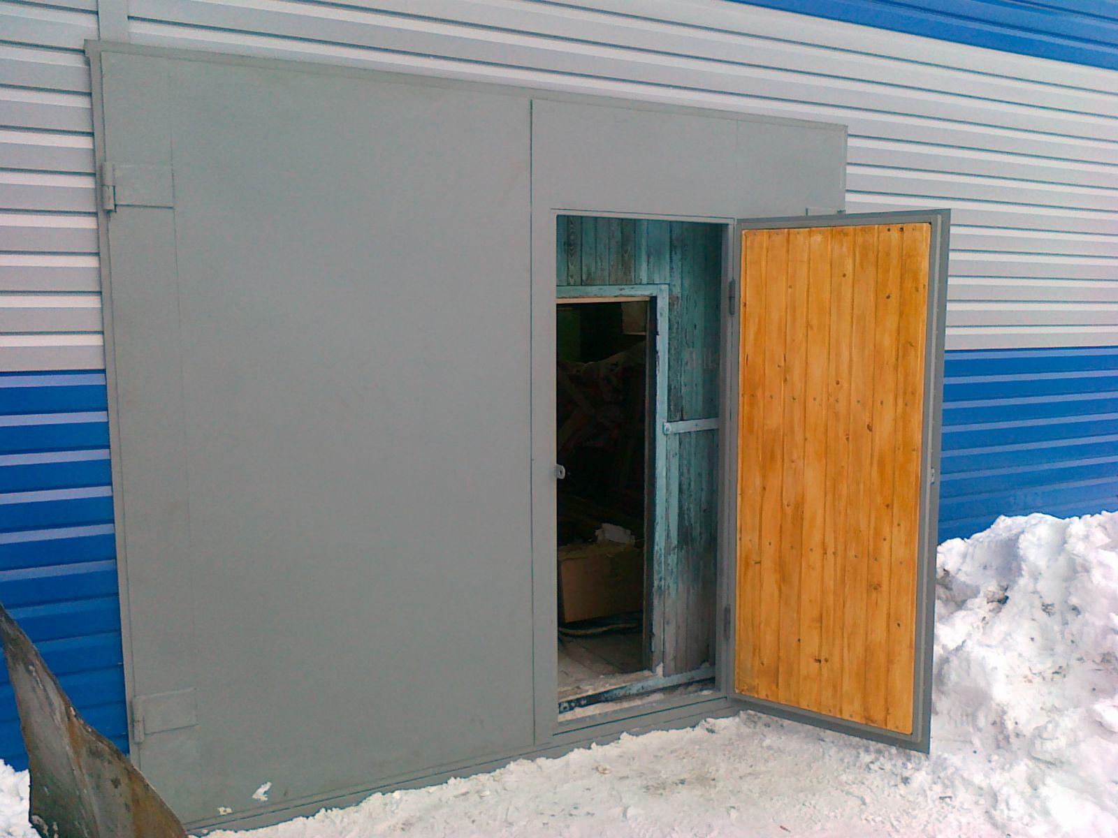 Отделка гаража снаружи своими руками фото