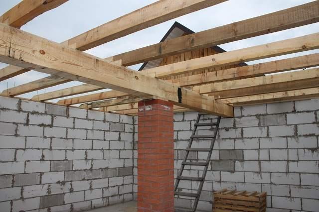 Строим крыша гаража своими руками 63
