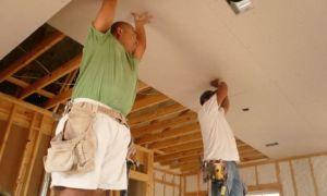 Подшиваем потолок в гараже своими руками