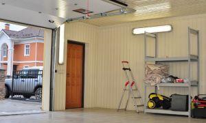 Выполняем внутреннюю отделку гаража своими руками