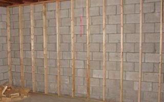 Выбор материала для отделки стен внутри гаража