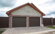 Выбираем проекты гаража на 2 машины