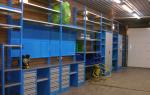 Как сделать металлический стеллаж для гаража своими руками