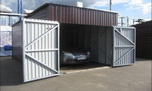 Из чего и как сделать дешевый гараж своими руками