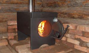 Печка для гаража: виды и особенности установки