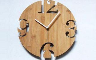 Часы из фанеры чертежи