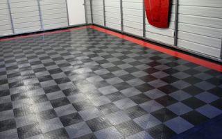 Как сделать и утеплить пол в гараже