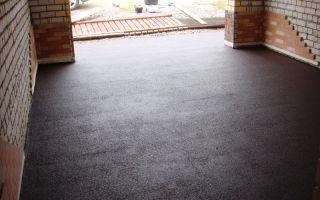 Этапы возведения бетонного пола в гараже