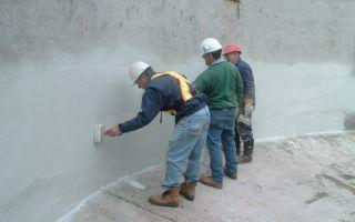 Защита бетона от попадания влаги с помощью проникающей гидроизоляции