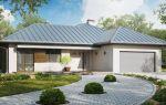 Проекты комфортных одноэтажных домов с гаражом