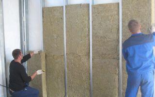 Как утеплить стены изнутри в гараже