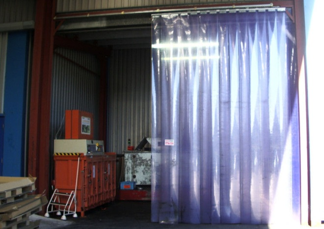ПВХ шторы для гаража