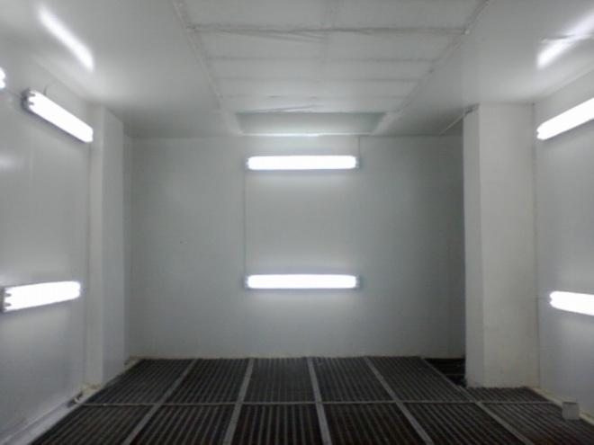 Вариант освещения гаража