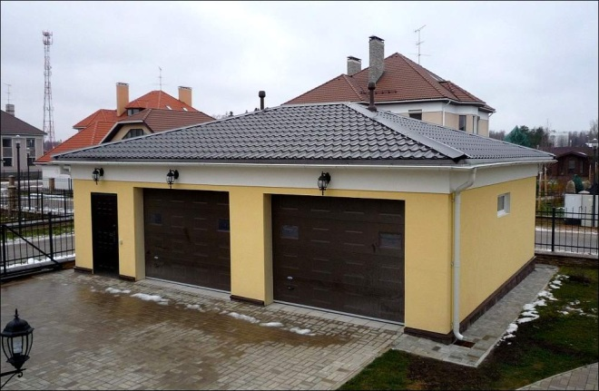 Чем покрыть крышу гаража