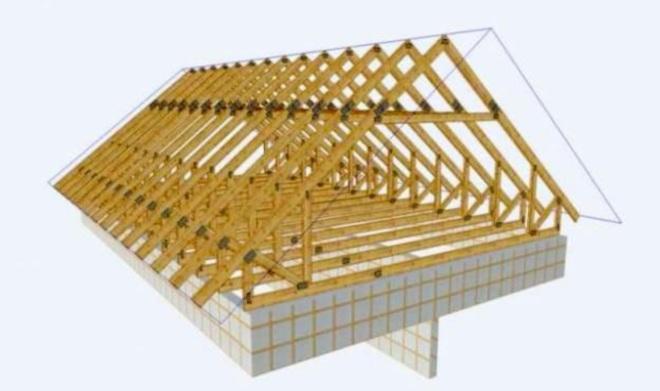 Конструкция двухскатной крыши гаража