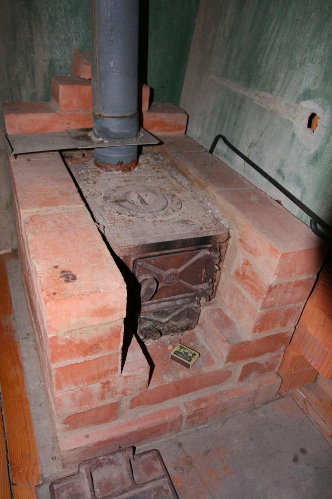 Пример оборудования места печки