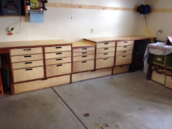 Ящики для гаража