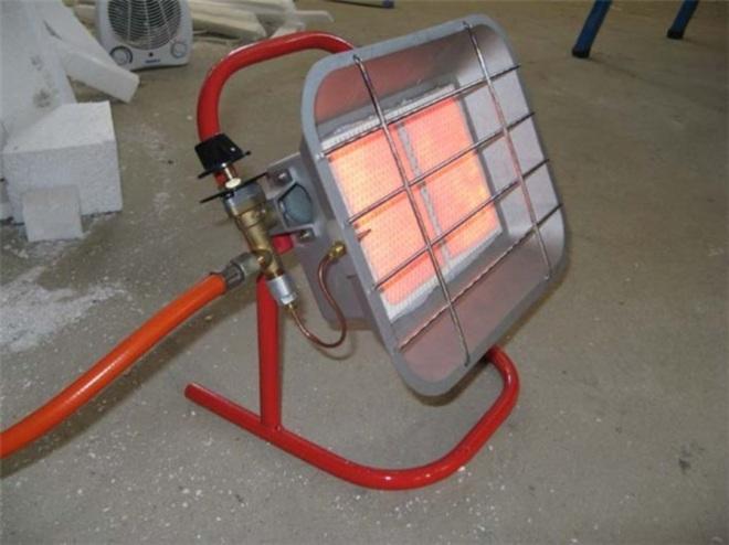 Газовый каталитический обогреватель
