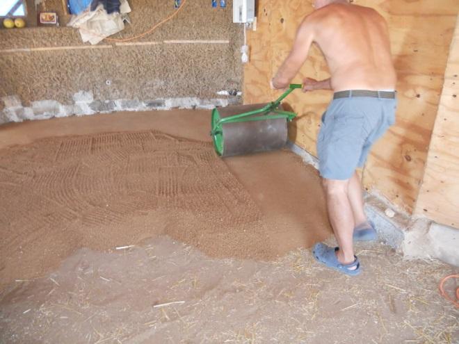 Обустройство земляного пола в гараже