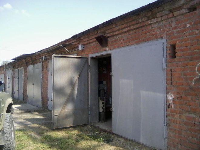 Аренда земли под гаражом