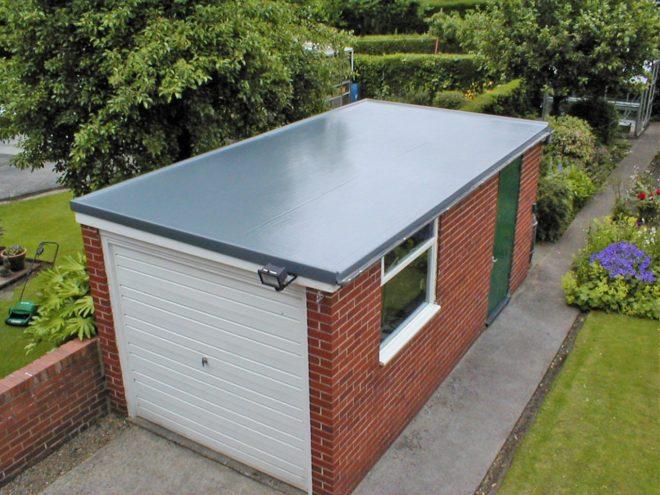Основные моменты ремонта крыши гаража