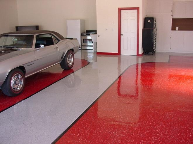 Краска по бетону для гаража
