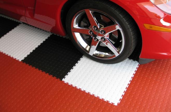 Резиновое покрытие для гаража