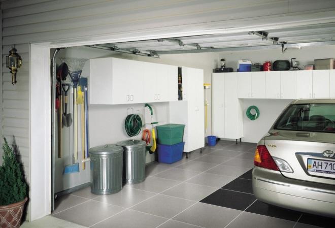 керамогранит на пол для гаража