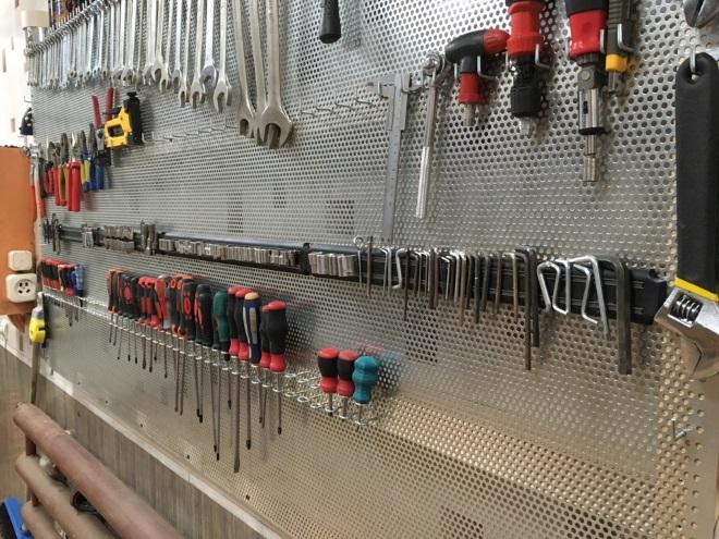 Щит для инструментов