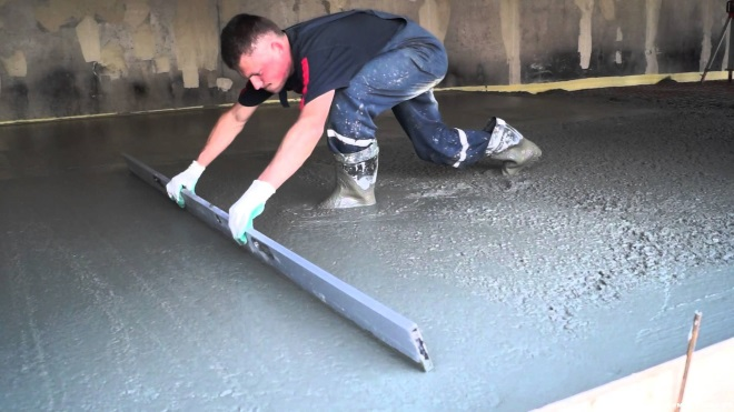 бетон какой марки нужен для пола в гараже