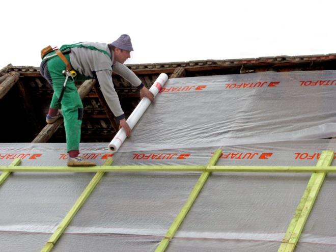 Гидроизоляция крыши под профнастил