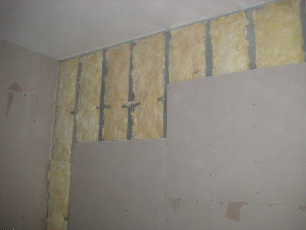 Гипсокартон на стенах