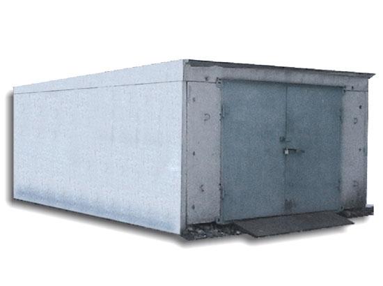 постройка ЖБИ гаража