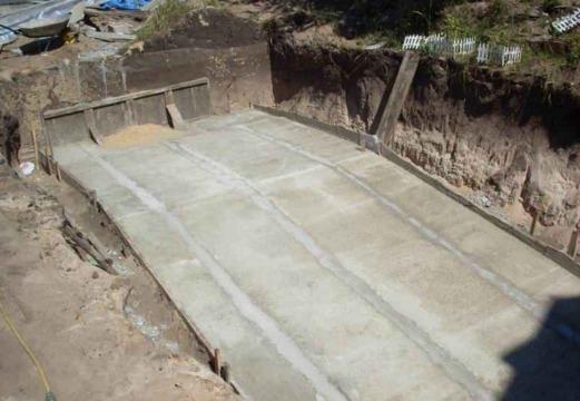 бетонный пандус своими руками