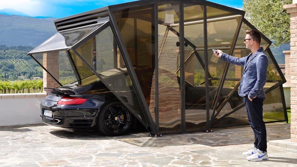что нужно для возведения гаража-ракушки
