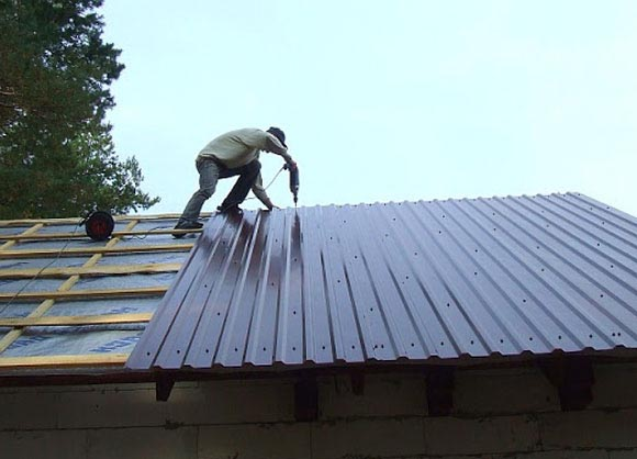 Как перекрыть крышу самому