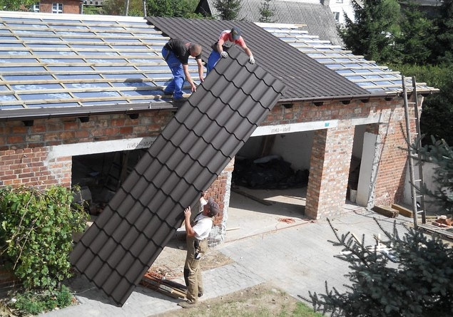 Материал для крыши гаража