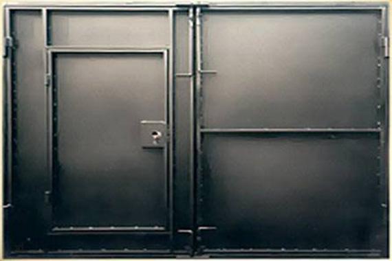 Металлические двери для гаража размеры купить краску для бетонного пола в гараже