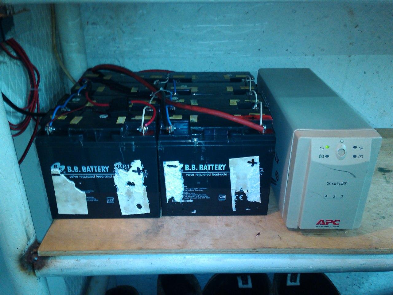 аккумуляторы для освещения