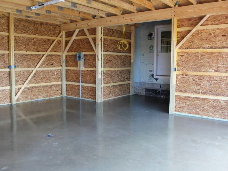 внутренняя подготовка гаража