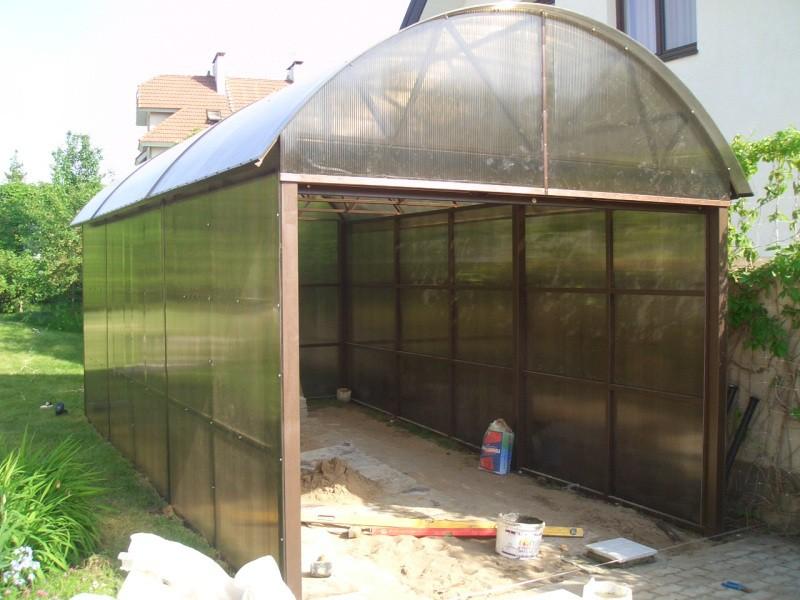 простота в постройке гаража