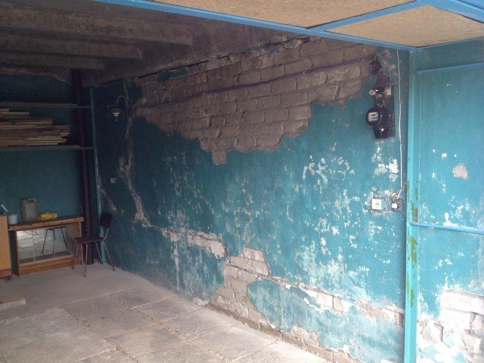 нужен ремонт стен в гараже