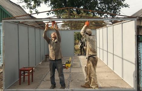 Как построить дешевый гараж своими руками 2