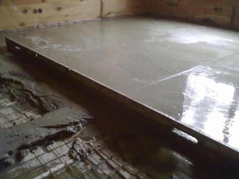 Как сделать бетонный пол в гараже своими руками