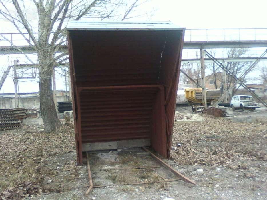 Конструкция гаража-ракушки
