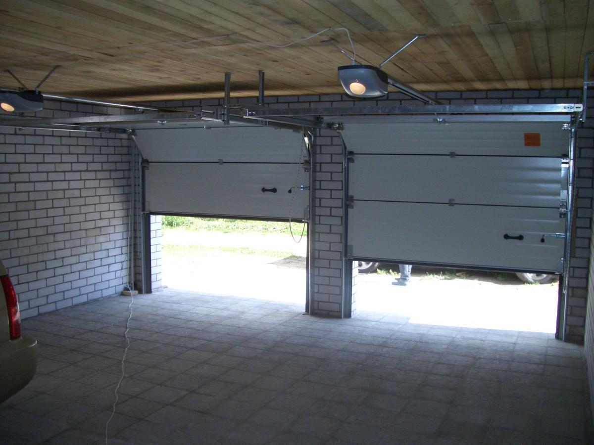 Установка гаража