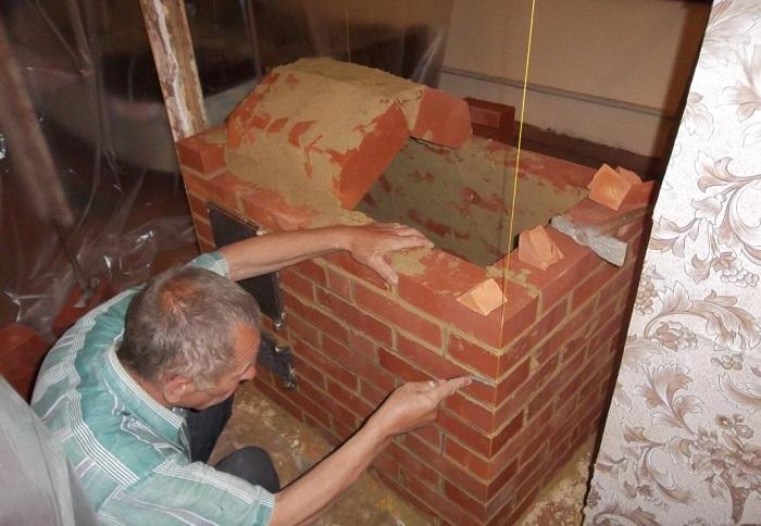 Особенности постройки печи из кирпича