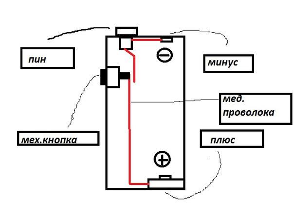 Схема соединения компонентов